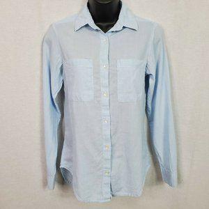 Japna Women's Button Front Long Sleeve shirt Sz XS